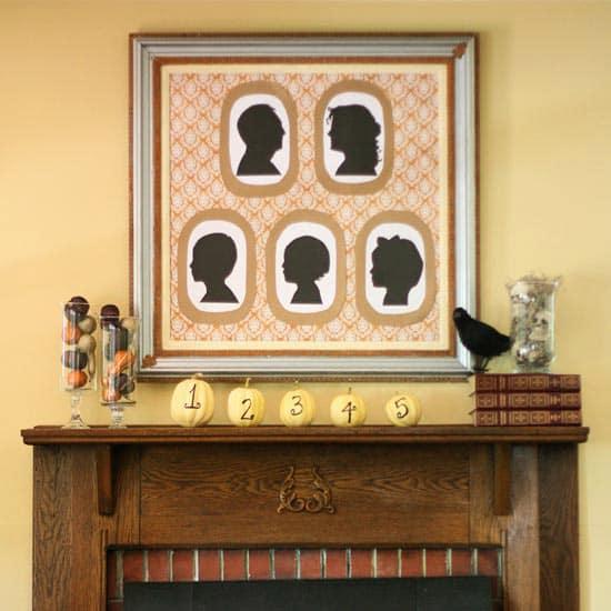 fall-fireplace decoration