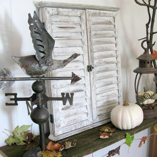 fall-fireplace decoration