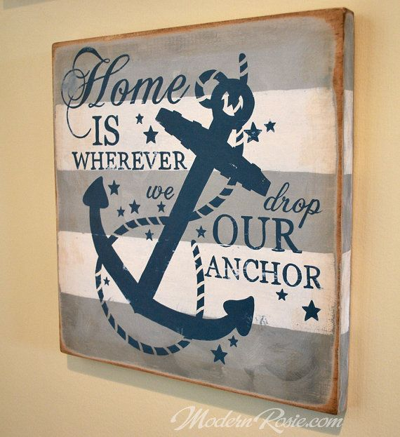 navy style home decor