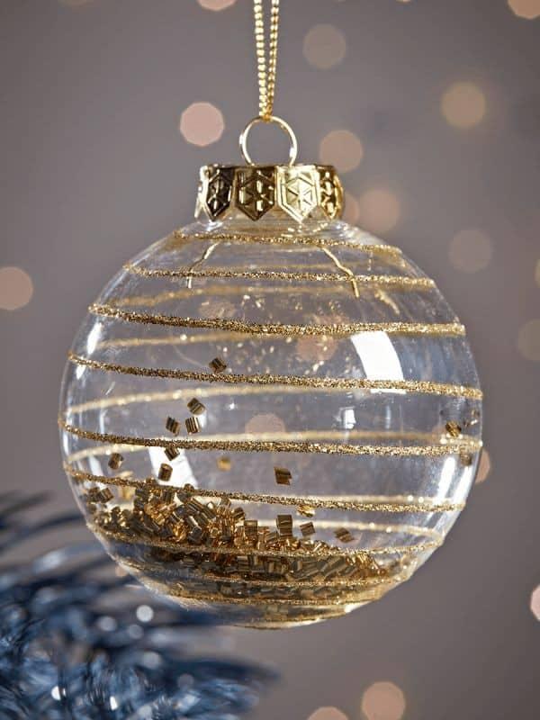 Πως να φτιάξετε γρήγορα και εύκολα Χριστουγεννιάτικες μπάλες- Diy κατασκευές