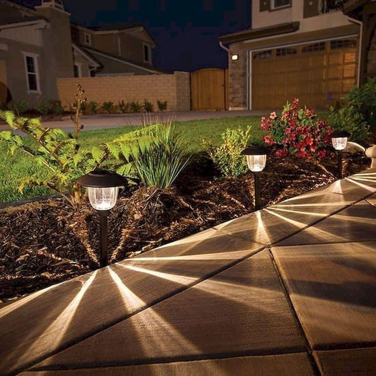 Οι εντυπωσιακότερες ιδέες για φωτισμό κήπου