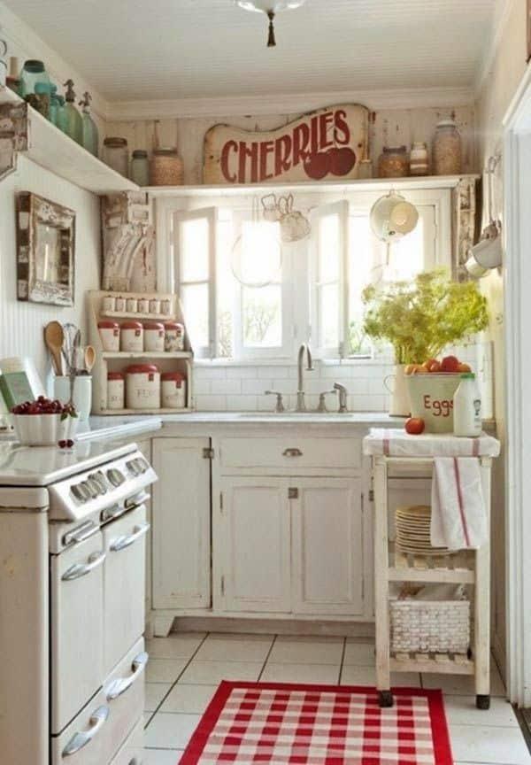 17 Προτάσεις διακόσμησης για μικροσκοπικές κουζίνες