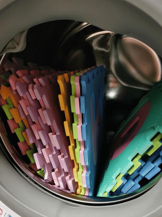 Καθάρισμα δαπέδου ασφαλείας παζλ αλβαβητα
