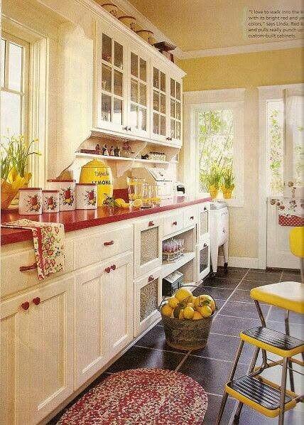 18 πανέμορφες ιδέες για vintage κουζίνες