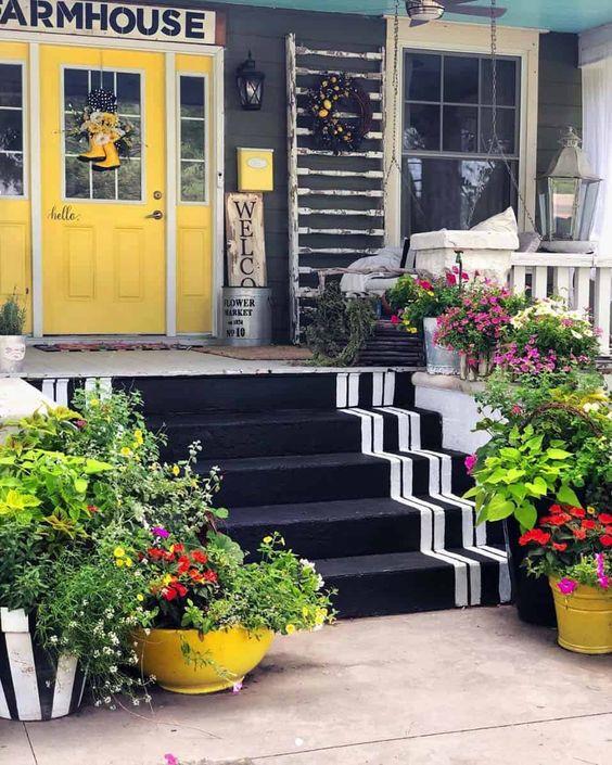 25 καταπληκτικές ιδέες για να φέρετε την Άνοιξη στη βεράντα σας