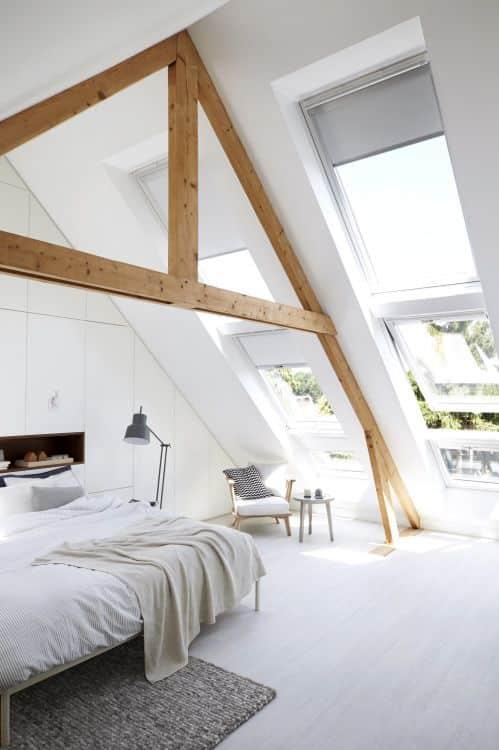 20 ιδέες για να μετατρέψετε την σοφίτα σε ένα υπέροχο υπνοδωμάτιο