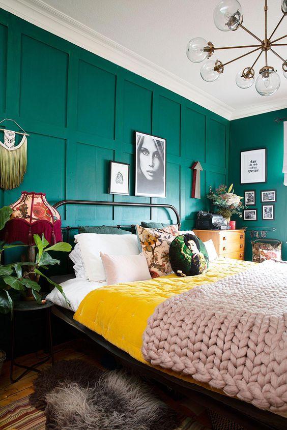 20 πανέμορφες κρεβατοκάμαρες σε πράσινες αποχρώσεις